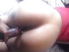 booty shake on black dick