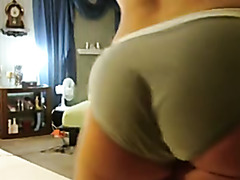 Shaking my big ass on amateur video