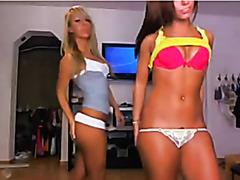 Hot teens in thongs
