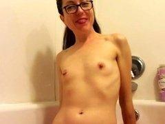Taking A Pee Bath